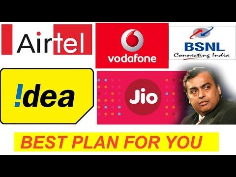 कौन है आपके लिए सबसे सस्ता जानिए | Jio Prime Membership vs Airtel vs vodafone vs Bsnl vs idea