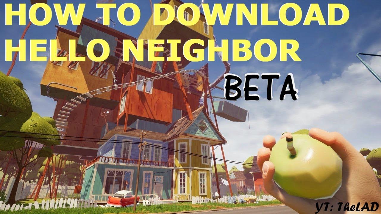 download hello neighbor pc