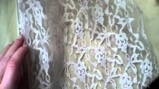 2 Rolls Vintage Antique Lace Fabric Trim Lot #91