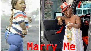 Short Lady Proposes Marriage To Shatta Bandles