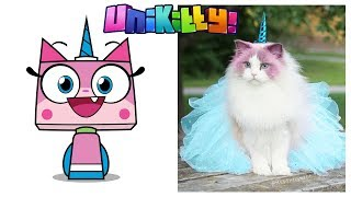 Gambar cover Unikitty Characters in Real Life - Behind The Voices