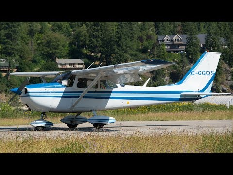 Cessna 172 Approach and Landing - YouTube