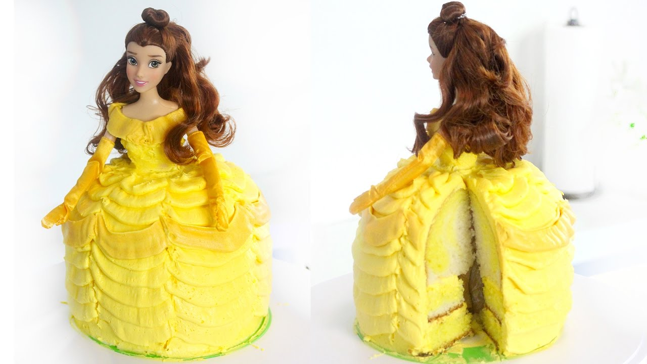 Belle Cake Beauty And The Beast Recipe Youtube