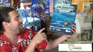 Coldwater Crown - Kickstarter - Board Game Review