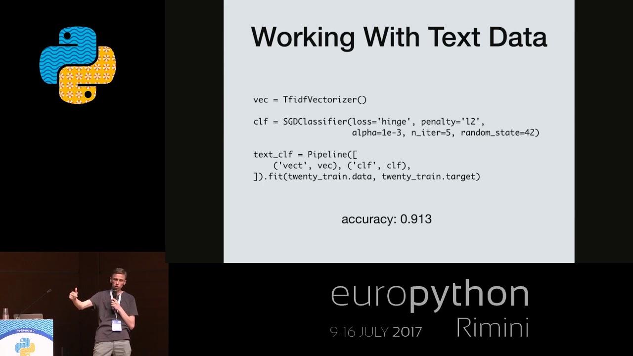 Mikhail Korobov - Explaining behavior of Machine Learning models with eli5  library