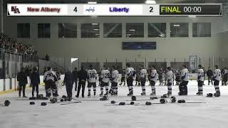 2020 OHSAA District Finals Hockey: New Albany vs Olentangy Liberty