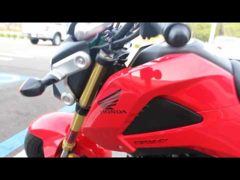 SOLD! 2014 HONDA GROM 125 E START UP AND WALK AROUND FOR SALE