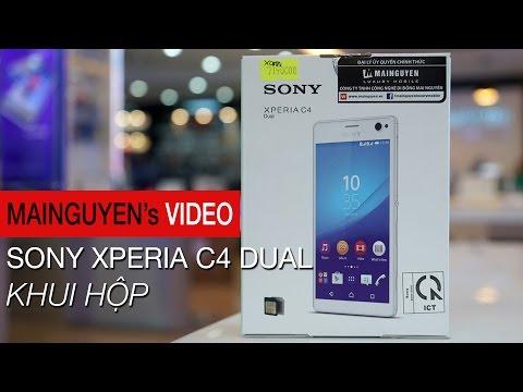 Khui hộp Sony Xperia C4 Dual - www.mainguyen.vn