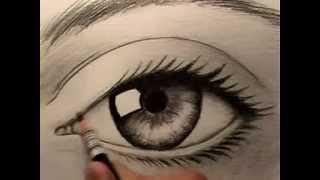 Как нарисовать глаз(это видео на английском, но и так понятно, что надо делать=). любой человек сможет легко нарисовать красивый..., 2013-05-16T16:30:28.000Z)