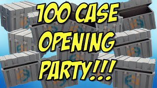 100 Case Opening Party! - Critical Ops - So many skins