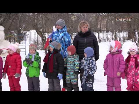 Малые зимние Олимпийский игры в г. Сясьстрой.