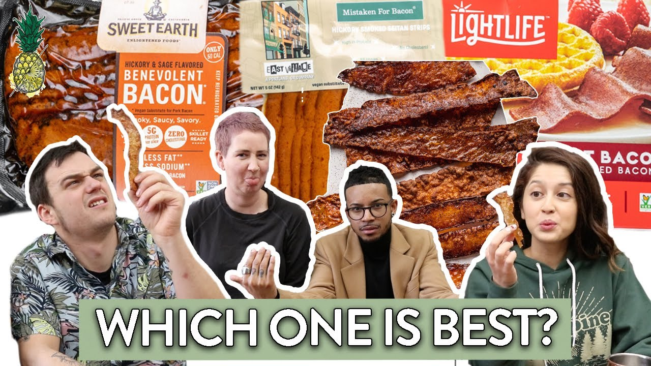 Meat Eaters Review Vegan Bacon | The Ultimate Taste Test
