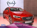 Opel Insignia Grand Sport et Insignia Sports Tourer en direct du salon de Genève 2017