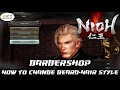 Nioh - How to unlock Babershop. Change beard and hairstyles!