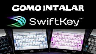 como baixar o teclado swiftkey keyboard pro