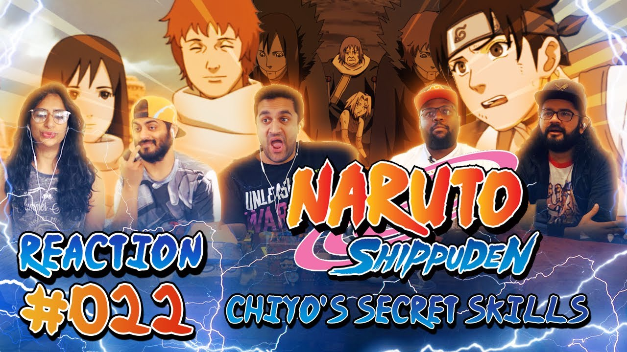 Naruto Shippuden Episode 22 Chiyo S Secret Skills Group Reaction Youtube