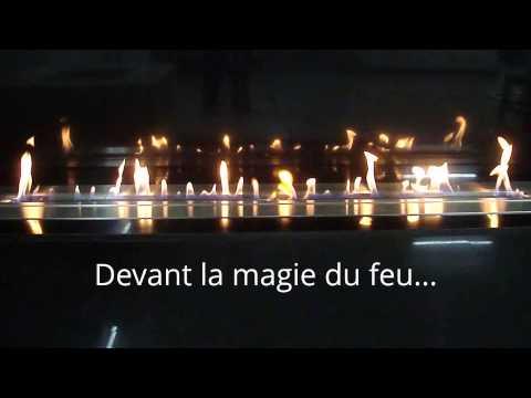 Bruleur Bio Ethanol Design Télécommandé AFIRE: l'Art du Feu High-Tech