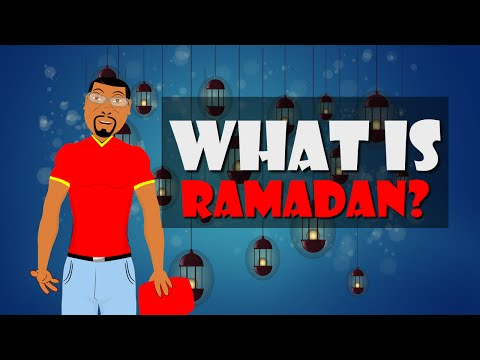 What is Ramadan? Fun Facts about Ramadan for Kids (Social Studies Cartoon)
