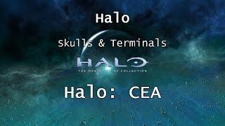 Halo: MCC [Halo: CEA] | Skulls & Terminals - Mission 2 - Halo | Collectibles