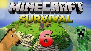 Minecraft Xbox: Survival Lets Play - Part 6 [XBOX 360 EDITION] A Small World Tour! - W/Commentary