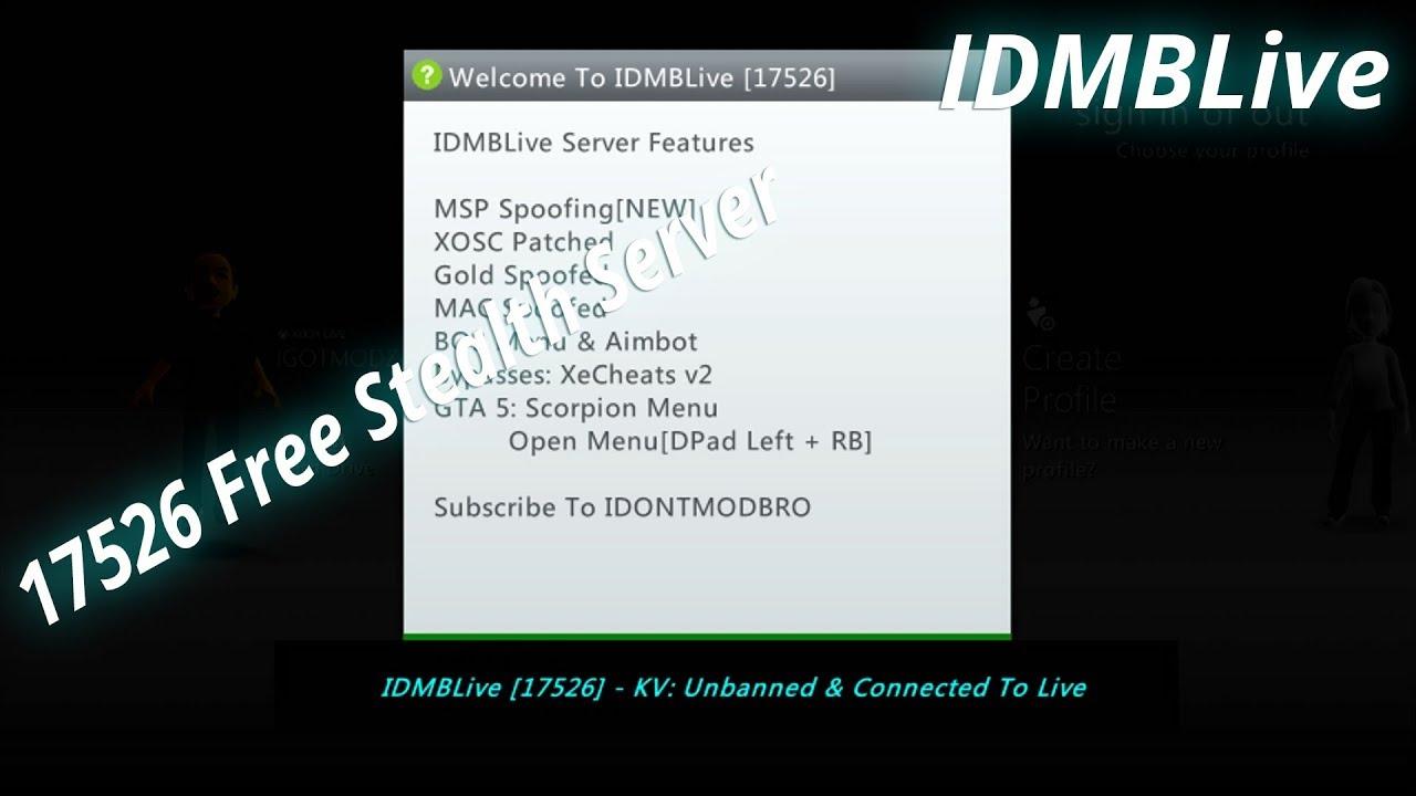 IDMBLive 17526 Free Stealth Server