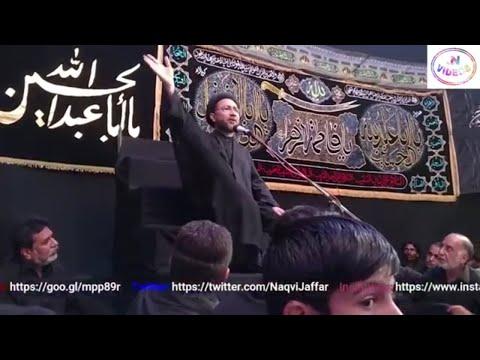 Allama Shehnshah Hussain Naqvi   Majlis   15 Muharram 2017/1439   Ali Palace Hyderabad