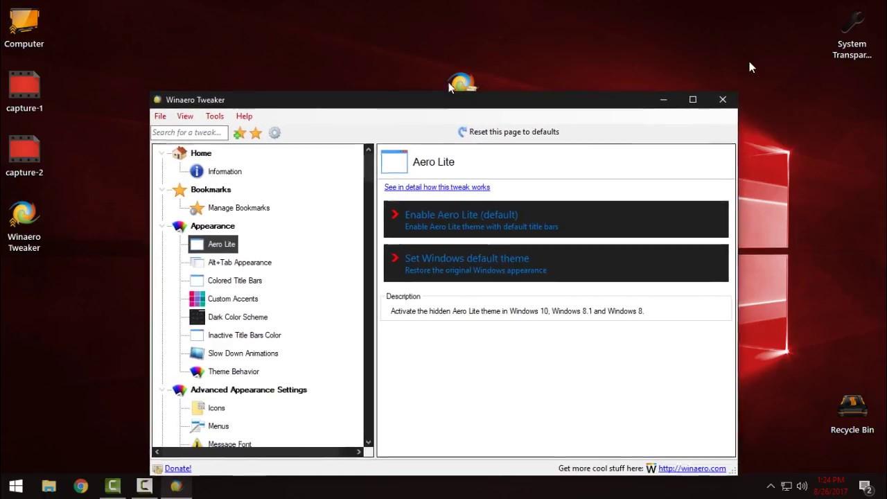 Winaero Tweaker Best Application To Customize Your Windows 10 Youtube