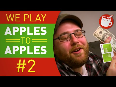 We Play Apples to Apples #2