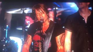 Keith Urban singing Country Roads at The Greenbrier Classic PGA Concert 2015 West Virginia
