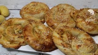 El acmasi kolay Patatesli Börek Tarifi I Türkisches Börek Rezept mit Kartoffel Füllung