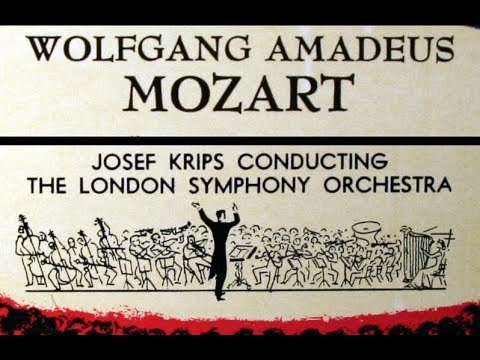 Mozart / Josef Krips, 1957: Overture to the Marriage of Figaro K492 - LSO