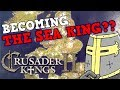 How TO BECOME THE SEA KING? Crusader Kings 2 100 Stat Man Holy Fury