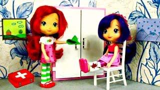 Видео для девочек. Шарлотка и Вишенка убирают дом.