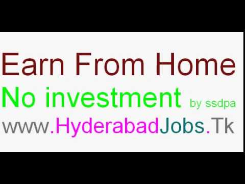 Hyderabad Work at home