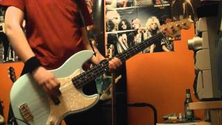 Blink 182 Man Overboard Bass Cover