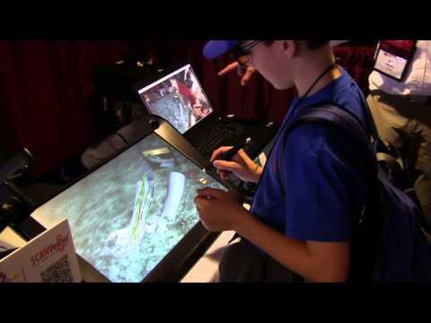 Secret Agents Explore ZSpace at MassCue 2014
