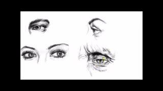 How To Draw Eyes With Different Angles [1]