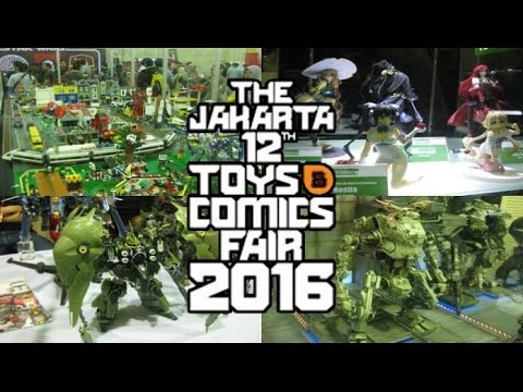 #Vlog Jakarta Toys Fair - BORONG BARANG & KETEMU OCID!!!