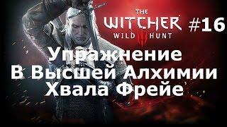 Ведьмак 3 The Witcher 3 Wild Hunt Подробное Прохождение.Часть 16.Упр.в высш.Алхимии.Хвала Фрейе