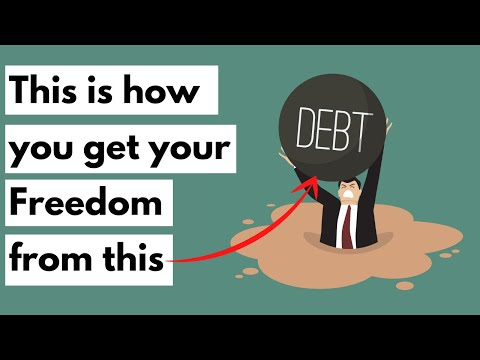How to Pay Off Debt (Good and Bad debt) - How to be good with money