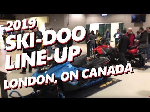 2019 SKI-DOO LINEUP SPRING TOUR: 2018 OPEN HOUSE LONDON CANADA