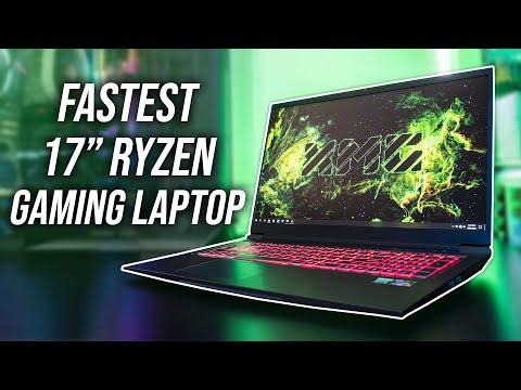 FASTEST Ryzen Gaming Laptop - XMG Core 17/Eluktronics RP-17 Review