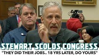 Furious Jon Stewart Scolds Congress