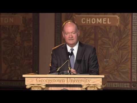 Georgetown University President addresses new initiative for slave descendants