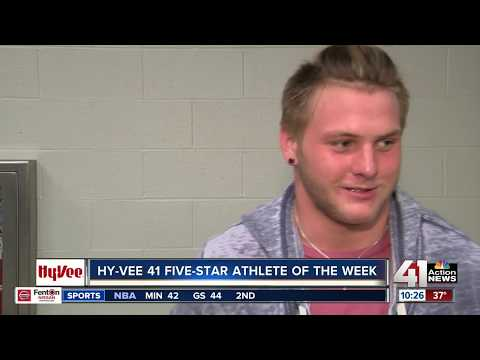 Jax Dineen is the Hy-Vee 41 Five-Star Athlete of the Week