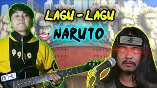 Download lagu KUMPULAN LAGU NARUTO SHIPPUDEN | gitar elektrik cover | GITARIS WIBU