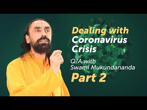 Swami Mukundananda Q/A on Coronavirus Part 2 - Best use of Time in Lockdown period, Future Lessons