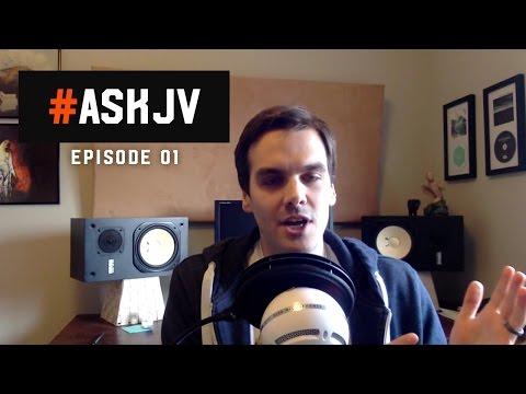 #ASKJV Episode 01: Making drums cut, Distressor settings for vocals, and landing better gigs