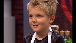W tej konkurencji najstarszy z jurorów spotkał się  z najmłodszym uczestnikiem :)[MasterChef Junior]