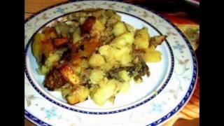 Рецепт для мультиварки картошка с грибами